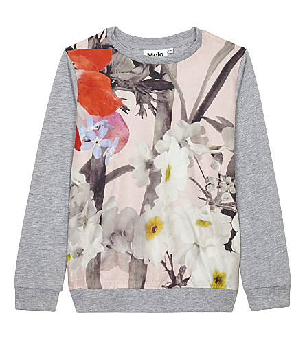 MOLO Renita flower print jumper (Poetic+floral