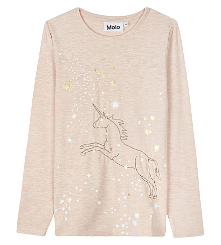 MOLO Rennie unicorn print top 4-12 years (5319