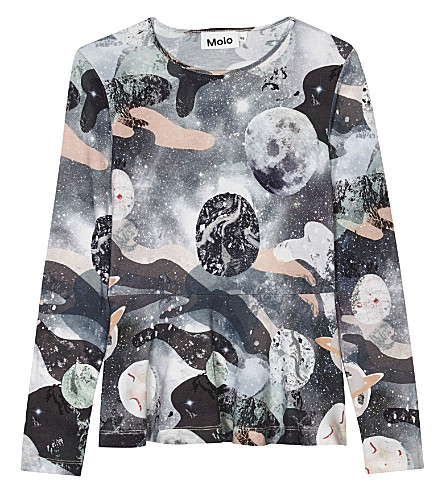MOLO Rosalind space print top 4-14 years (4632