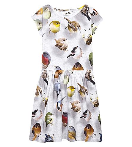 MOLO Carla cotton sleeveless dress 3-14 years (Bouncing+birds