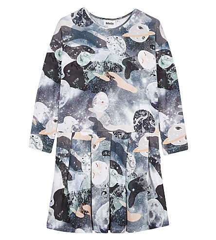 MOLO Cillie space print dress 3-14 years (4632