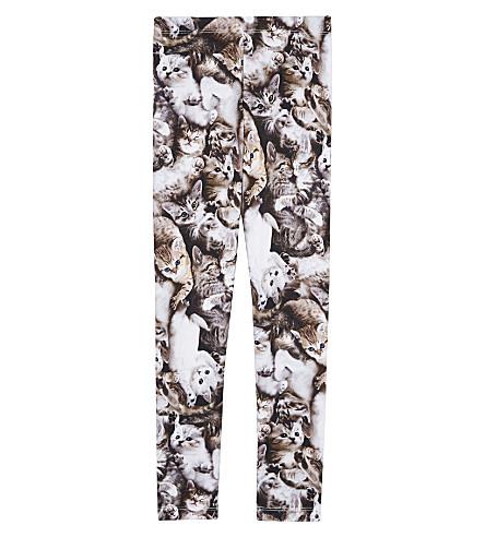 MOLO Graphic-print cotton-blend leggings 4-14 years (4630