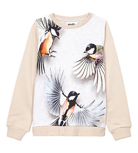 MOLO Marlee bird cotton sweatshirt 4-14 years (Flying