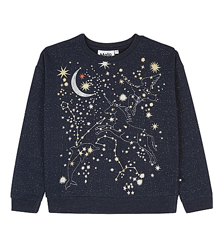 MOLO Space print sweatshirt 4-14 years (2257
