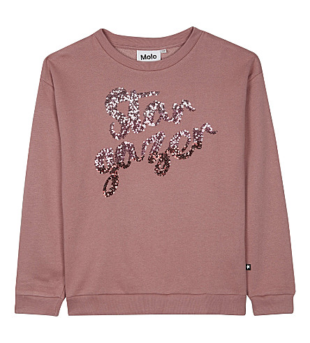 MOLO Star gazer cotton-blend sweatshirt 4-14 years (2238