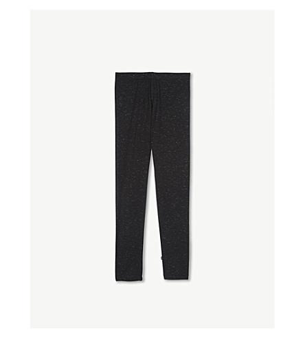 MOLO 尼基闪光棉混纺紧身裤 4-14 岁 (黑色 + 闪光