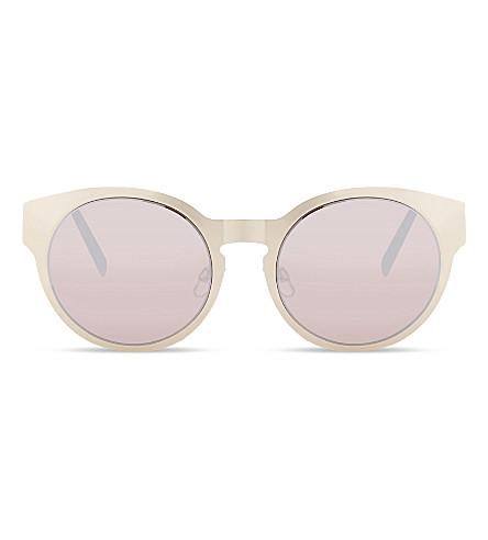 MOLO Shakira round-frame sunglasses (Gold