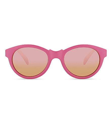 MOLO Simba round-frame sunglasses (Knockout+pink