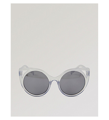 MOLO Super Star cat-eye sunglasses (Blue