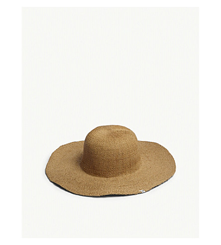 MOLO Glitter straw hat 6-14 years (Natural