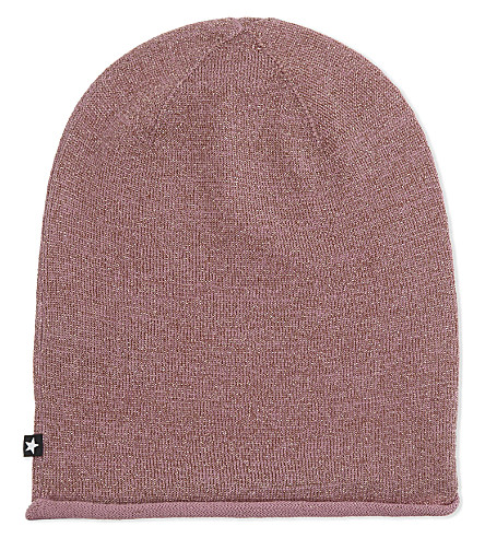 MOLO Kira wool glitter beanie hat 3-8 years (2238