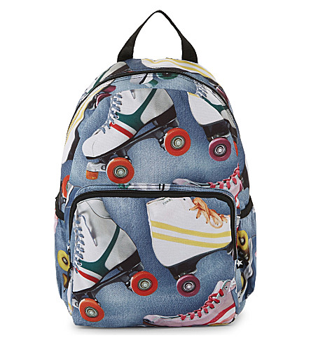 MOLO Roller skating print backpack (Roller+skating