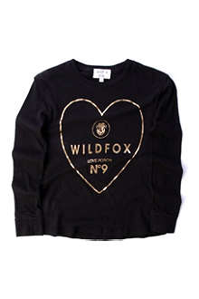 WILDFOX Golden Potion long-sleeved tee 7-14 years