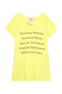 WILDFOX Island fun t-shirt 7-14 years