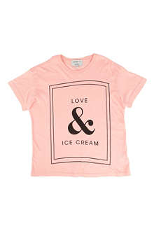 WILDFOX Love & Ice Cream t-shirt 7-14 years