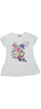 WILDFOX Flowers t-shirt 7-14 years