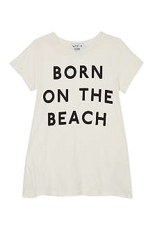 WILDFOX Born on the beach t-shirt 7-14 years