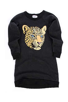 WILDFOX Cheetah sweatshirt dress