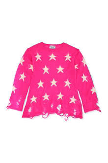 WILDFOX Star print knitted jumper 7-14 years