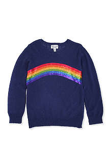WILDFOX Sequin rainbow jumper 7-14 years