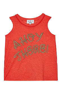 WILDFOX Ahoy There! sleeveless t-shirt 7-14 years