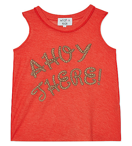 WILDFOX Ahoy There! sleeveless t-shirt 7-14 years (Lifeguard