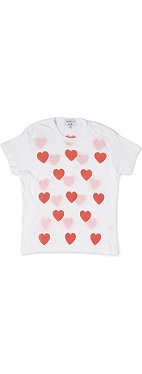 WILDFOX Heart t-shirt 7-14 years