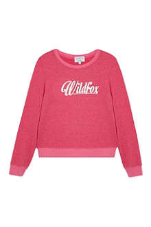 WILDFOX Logo sweatshirt 7-14 years