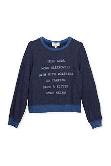 WILDFOX New Year's resolution jumper 4-14 years