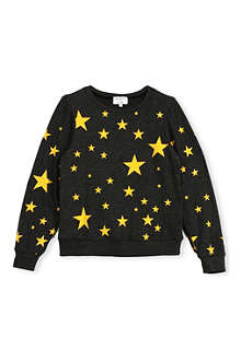 WILDFOX Disco Stars sweatshirt 7-14 years