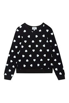WILDFOX Awkward hearts jumper 7-14 years