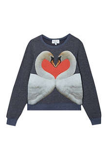 WILDFOX Swan love beach jumper 7-14 years