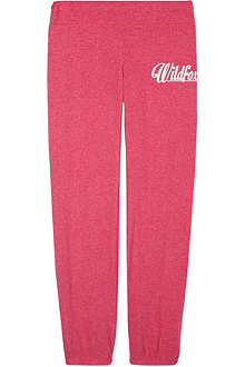 WILDFOX Logo jogging bottoms