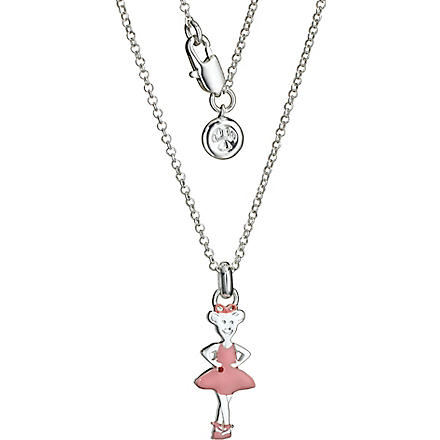 MOLLY BROWN Angelina Ballerina Twinkle Toes necklace