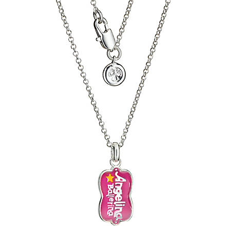 MOLLY BROWN Angelina Ballerina Born to Dance necklace