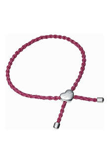 MOLLY BROWN Deep pink festival friendship bracelet