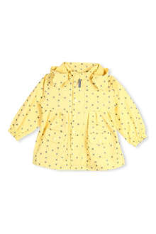 MINI A TURE Star-print hooded coat 2-8 years