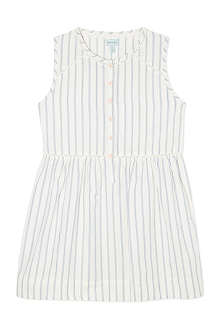 MINI A TURE Button front striped dress 2-8 years