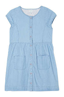MINI A TURE Chambray button front dress 2-8 years