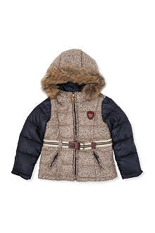 SCOTCH R'BELLE Contrast sleeve hooded jacket 4-14 years