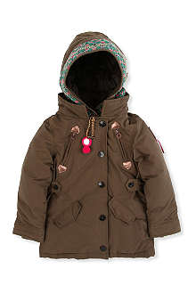 SCOTCH R'BELLE Hooded parka jacket 4-14 years