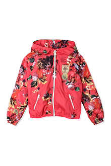 SCOTCH R'BELLE Floral hooded windbreakder 4-16 years
