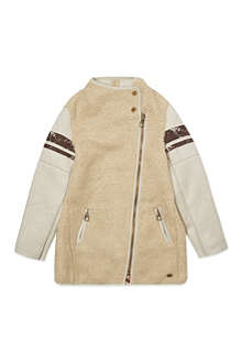 SCOTCH R'BELLE Shearling effect coat 4-16 years