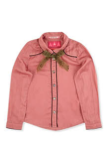 SCOTCH R'BELLE Cowboy shirt with button pin 4-14 years