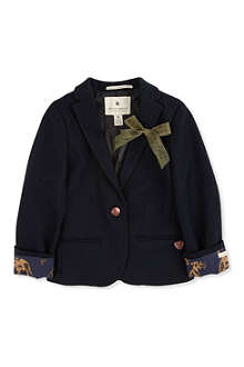 SCOTCH R'BELLE Blazer with pin bow 4-14 years