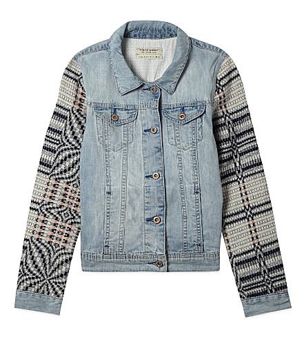 home kids coats jackets denim jacket 4 16 years. Black Bedroom Furniture Sets. Home Design Ideas