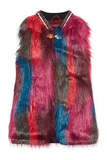 SCOTCH R'BELLE Faux fur gilet 4-16 years