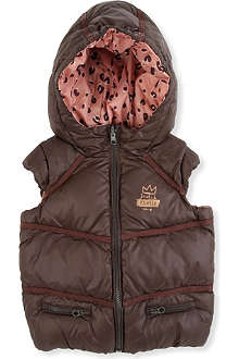SCOTCH R'BELLE Reversible hooded gilet 4-14 years