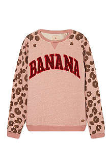 SCOTCH R'BELLE Banana leopard jumper 4-16 years