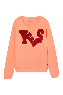 SCOTCH R'BELLE Yes logo jumper 4-16 years